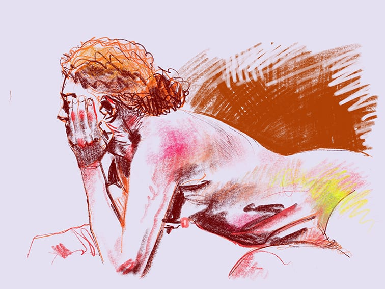 Digital life drawing 110