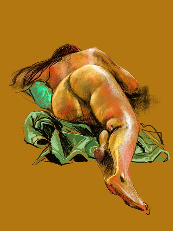 Digital life drawing 115