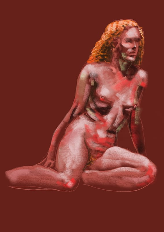 Digital life drawing 16
