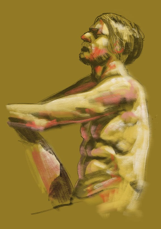 Digital life drawing 25