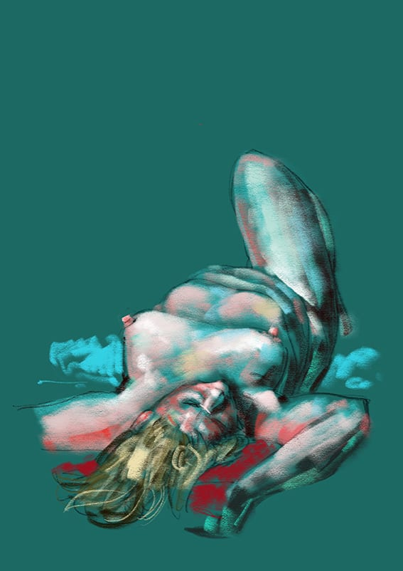 Digital life drawing 27