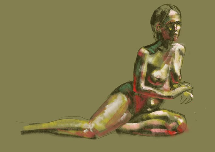 Digital life drawing 29