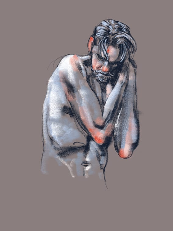 Digital life drawing 44