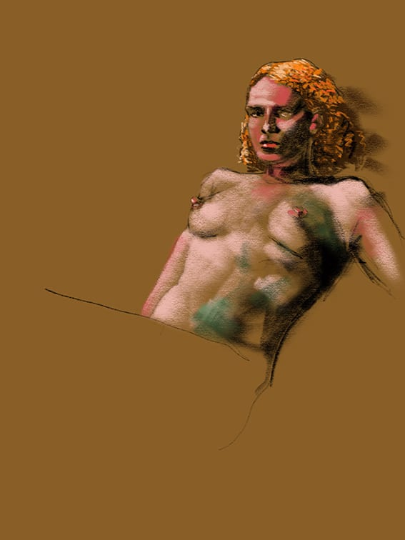 Digital life drawing 50