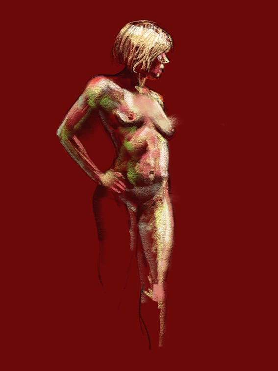 Digital life drawing 60