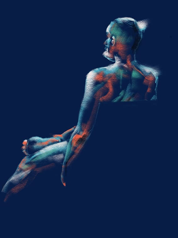 Digital life drawing 64