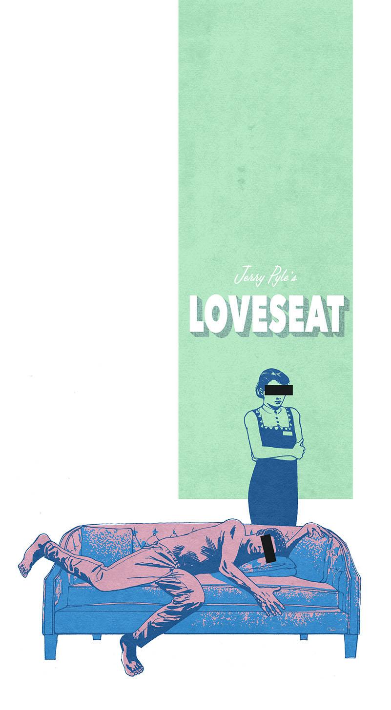 Movie poster for short film Loveseat