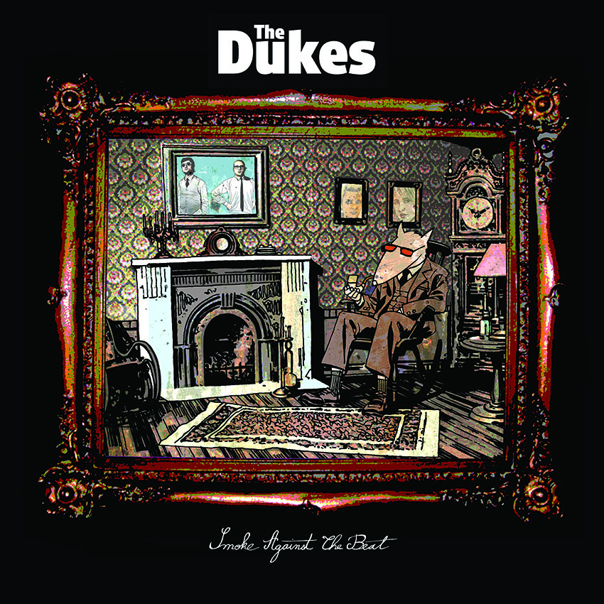 The Dukes - Smoke against The Beat vinyl LP cover