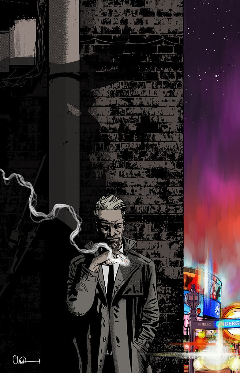 A variant cover to DC's Hellblazer #1